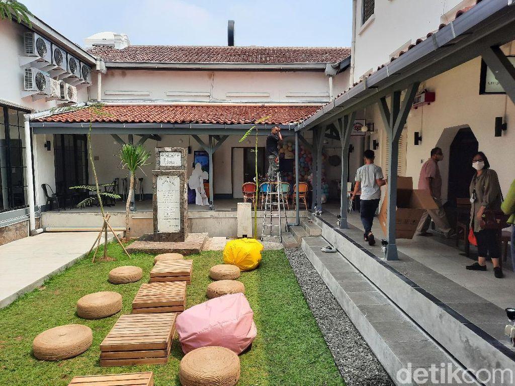 Pos Bloc Jakarta Sulap Kantor Pos Pasar Baru Jadi Kekinian