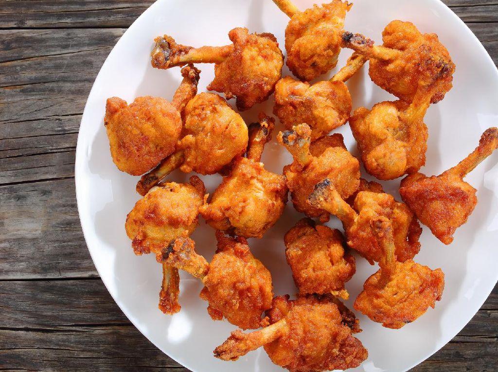 Resep Ayam Goreng Lolipop yang Renyah Gurih Buat Lauk Anak