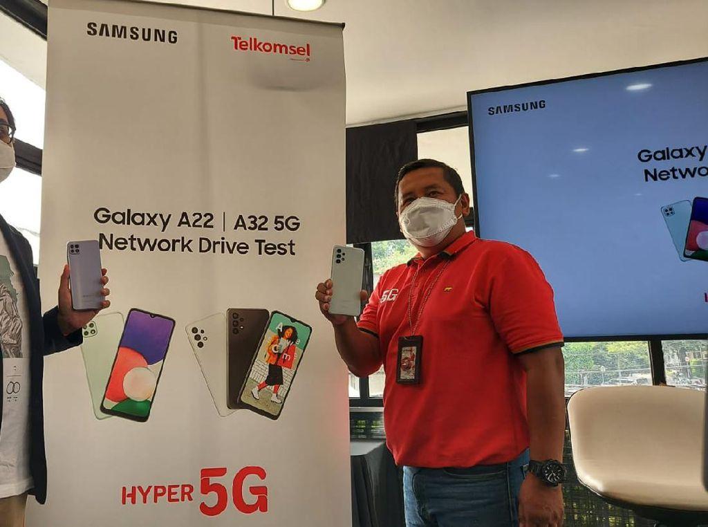 Ini Cara Mengktifkan 5G Telkomsel di Galaxy A22 dan Galaxy A32 5G