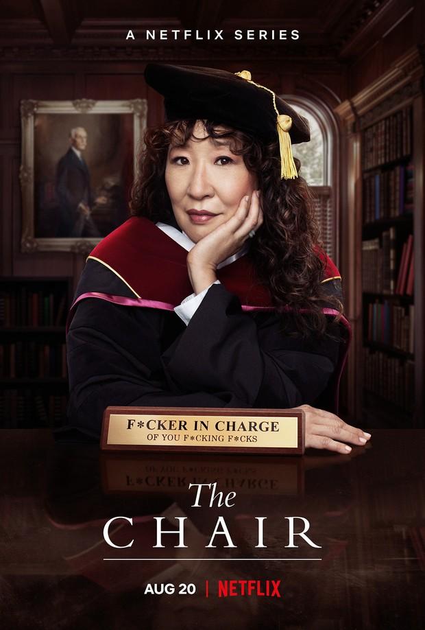Sandra Oh dalam The Chair