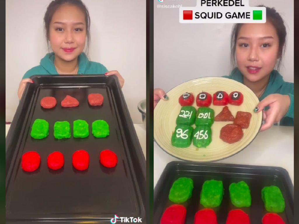 Sisca Kohl Bikin Perkedel yang Terinspirasi dari Squid Game