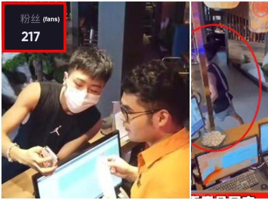 Super PD! Pria Ini Minta Gratis Makan di Resto Dibayar Pakai Followers Segini