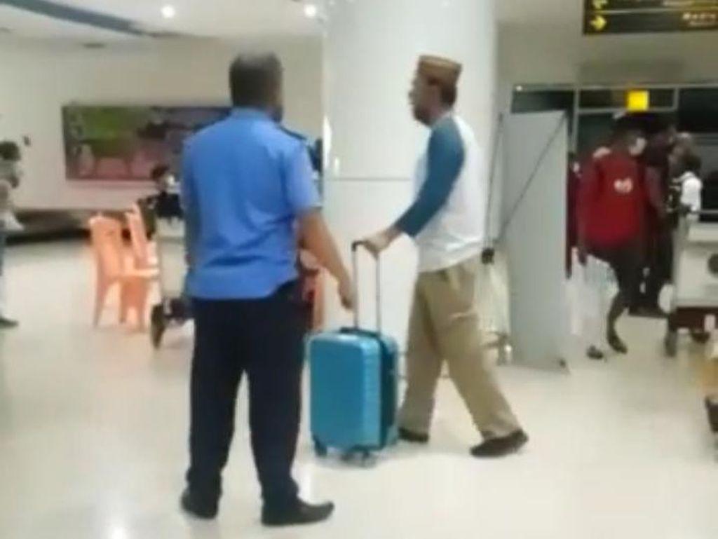 Viral Anggota DPRD Boalemo Gorontalo Ngamuk di Bandara Tolak Rapid Antigen