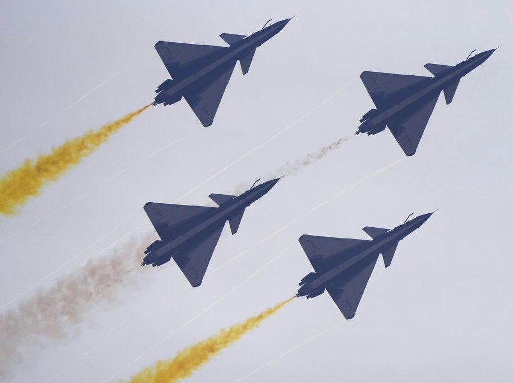 Puluhan Jet Tempur China Dekati Wilayahnya, Taiwan Berang