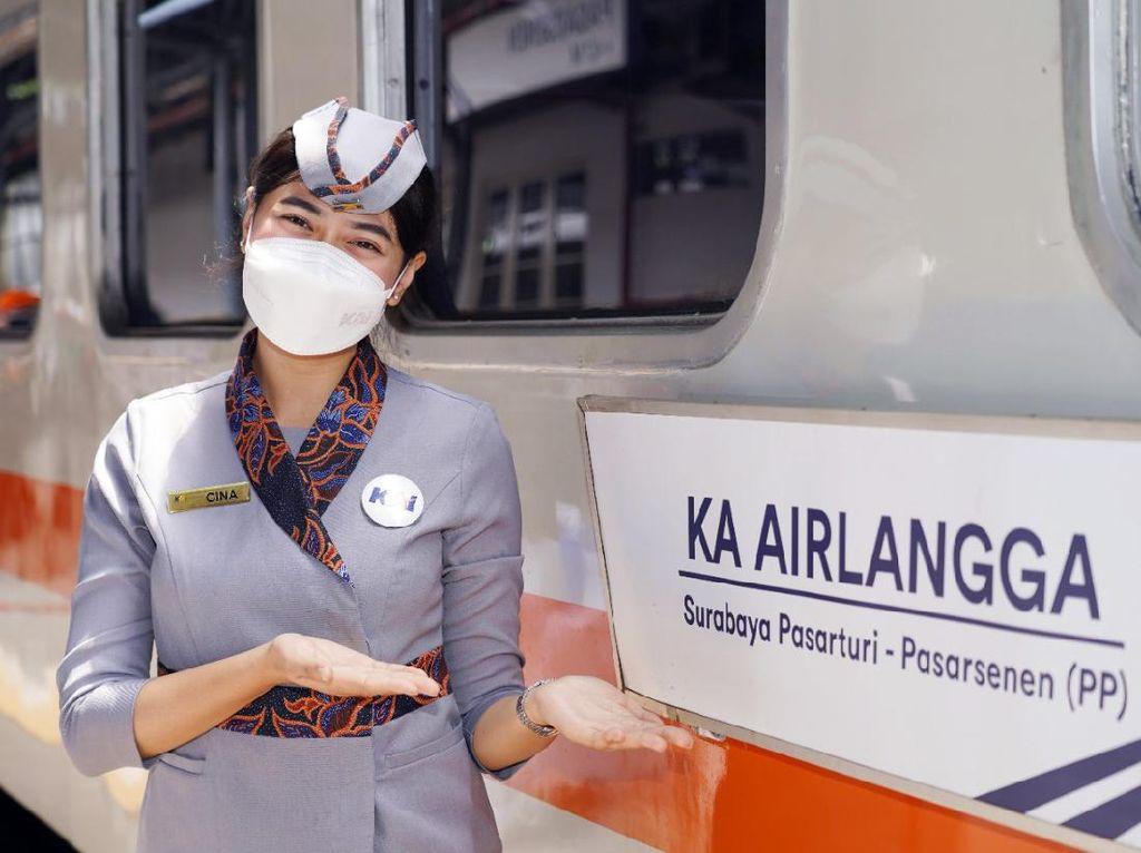 KAI Luncurkan KA Baru, Namanya KA Airlangga Rute Pasar Senen - Surabaya