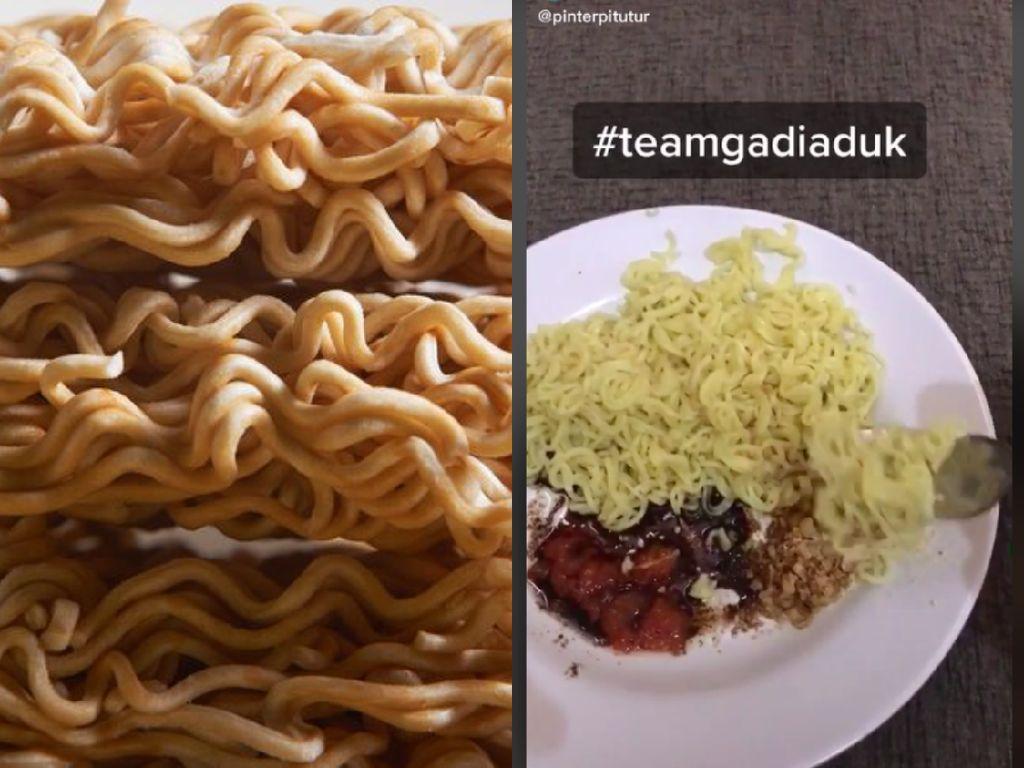 Sekte Makan Mie Goreng Gak Diaduk Ini Bikin Netizen Murka