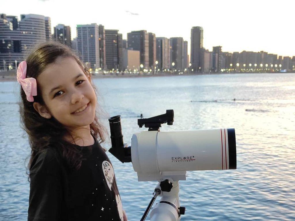 Hebat! Astronom Termuda di Dunia Usianya Baru 8 Tahun