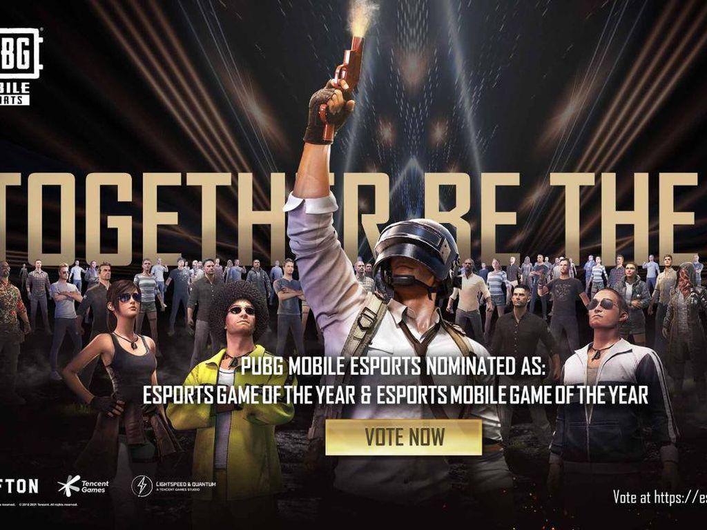PUBG Mobile Masuk Nominasi Esports Game of The Year