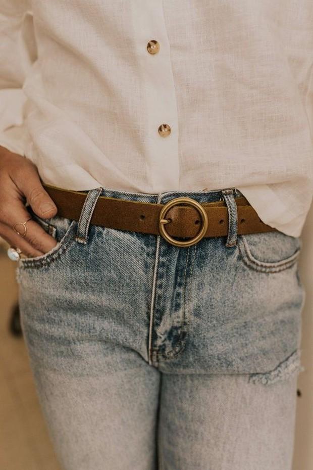 Bisa pakai quality belt untuk upgrade outfit lama.