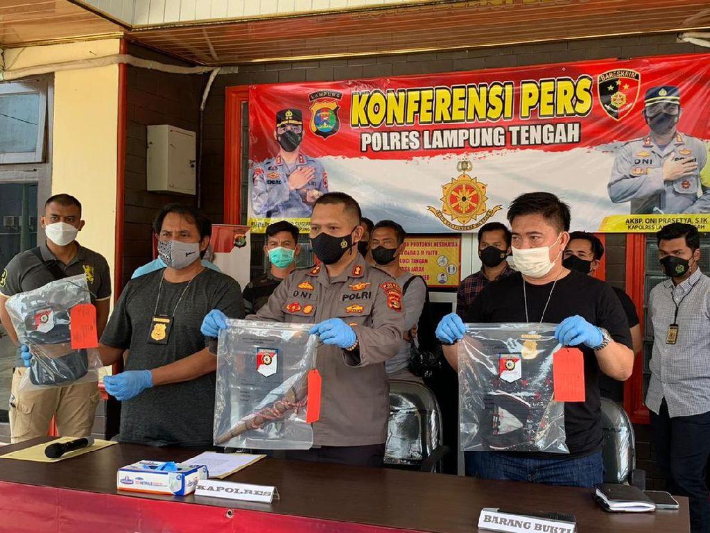 Pria di Lampung Ditikam 34 Kali Hingga Tewas, Pelaku Ditangkap Polisi