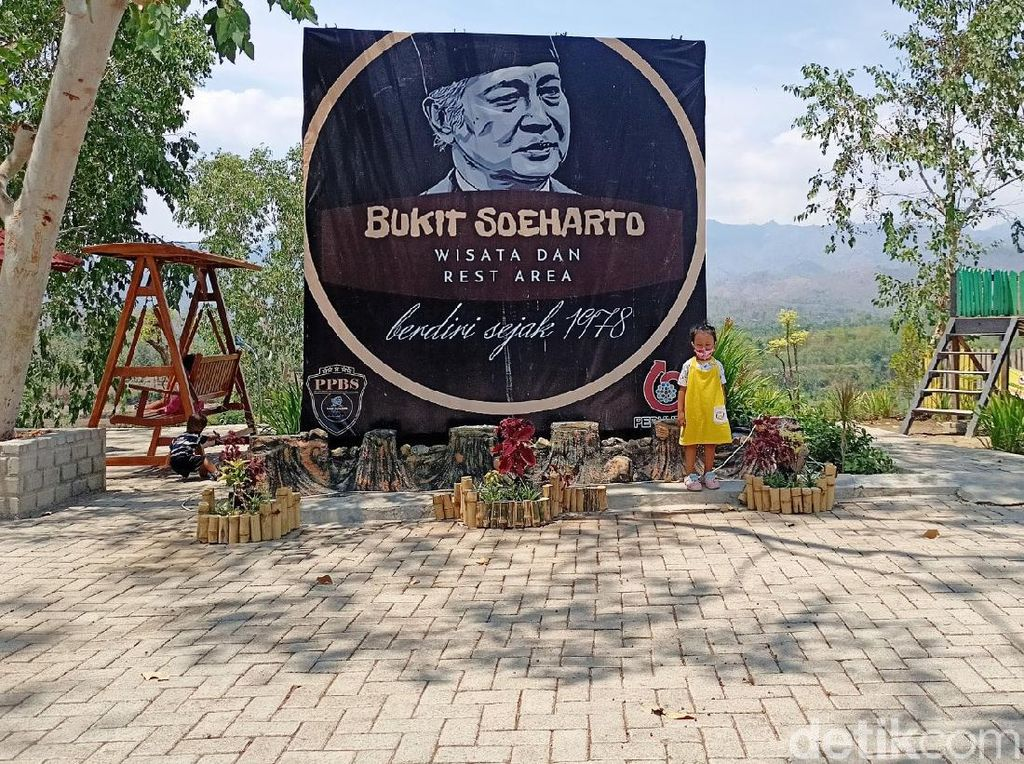 Selain Patung, Soeharto Juga Diabadikan Jadi Nama Tempat Wisata