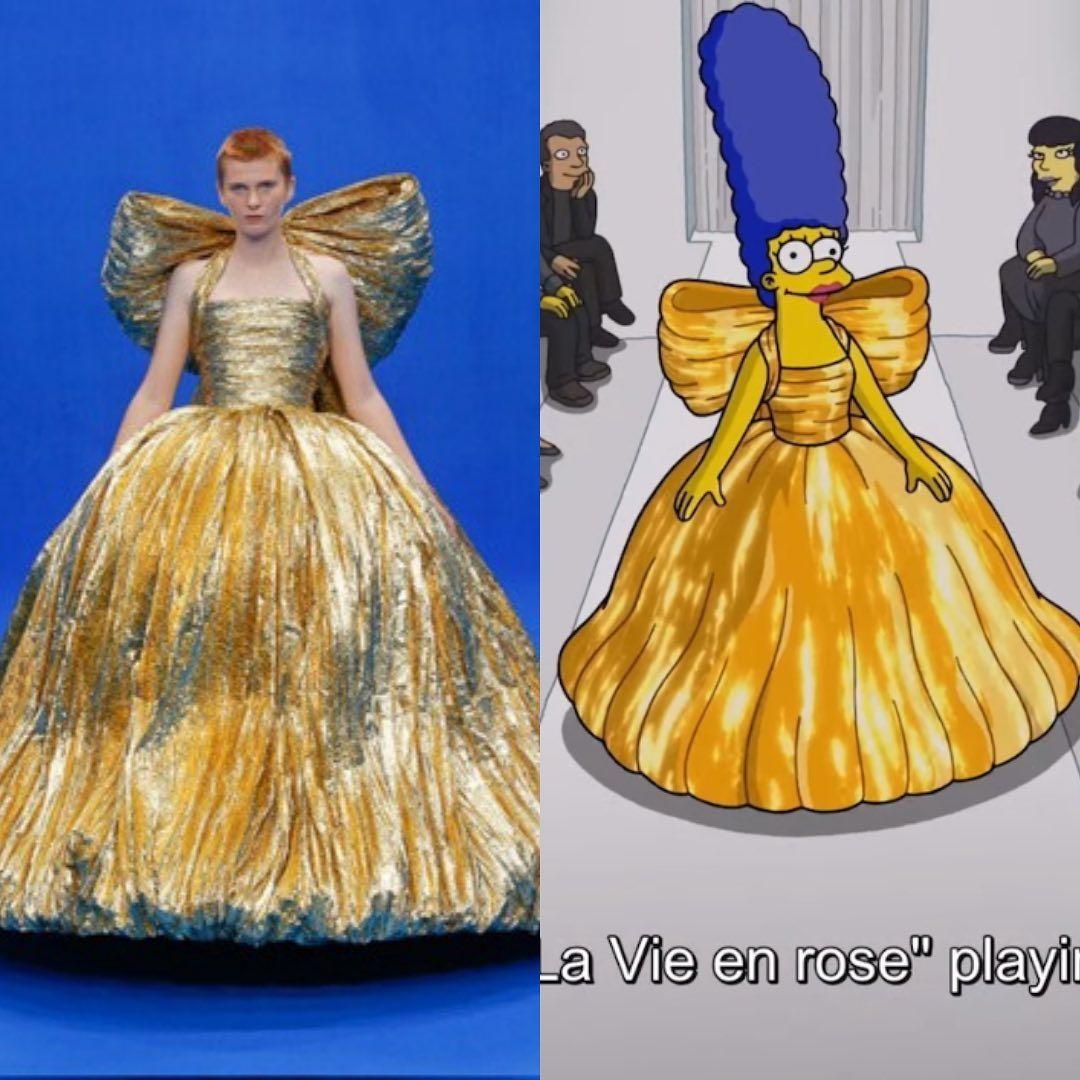 Film The Simpsons dengan Balenciaga