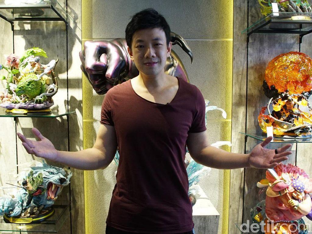 Intip Kamar Mainan Action Figure Milik Frans Sanjaya