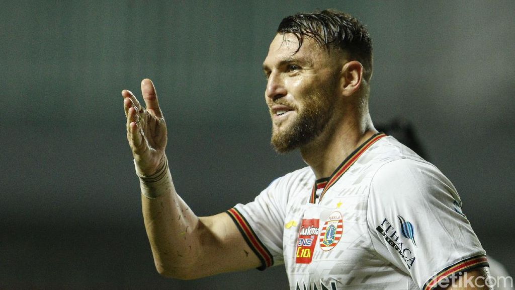 Gol Penalti Simic Menangkan Persija di BRI Liga 1