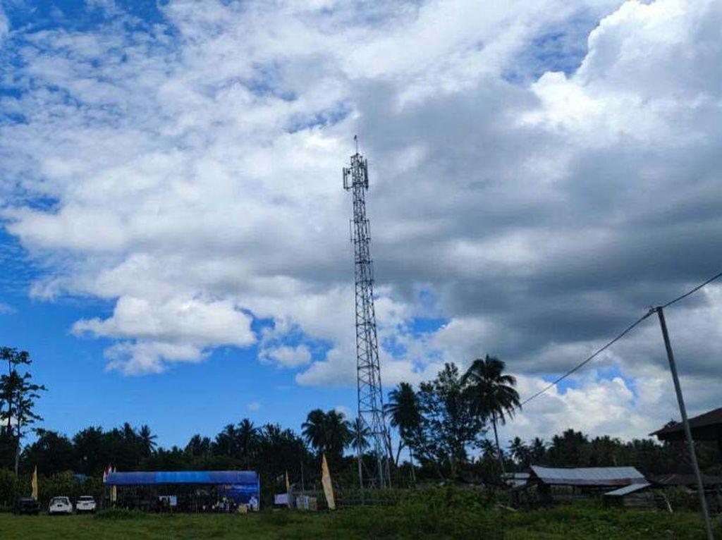 Kini Desa Terpencil di Kabupaten Banggai Dapat Layanan 4G/LTE