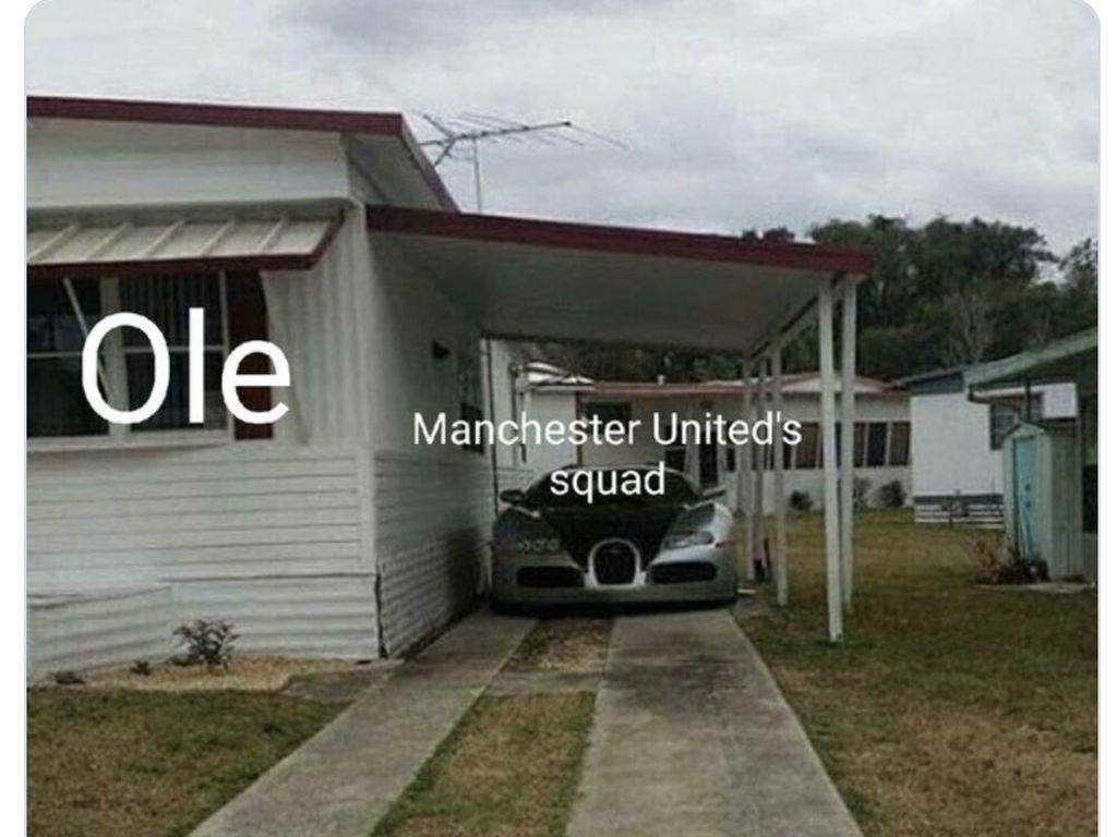 Meme #OleOut, Skuad MU Mahal Tapi B Aja