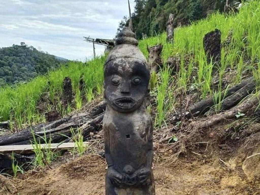 Penemuan Patung Kuno Berlanjut Kabar Petani Kesurupan Bak Harimau