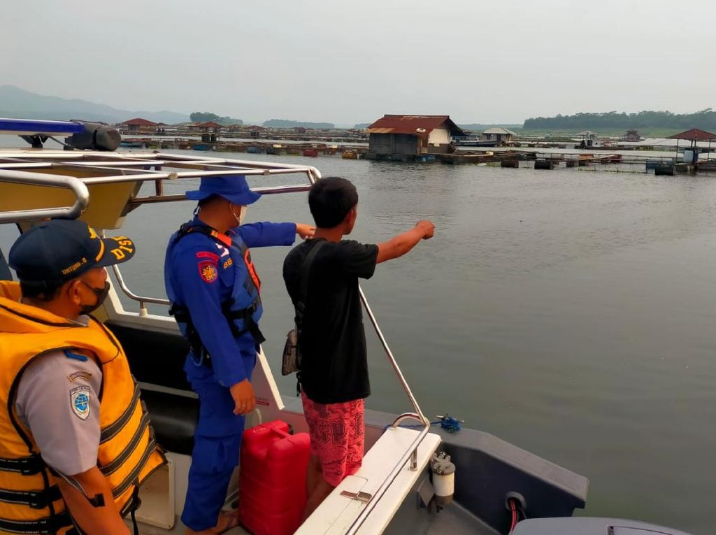 5 Remaja Tenggelam di Waduk Cirata Cianjur, Satu Korban Hilang