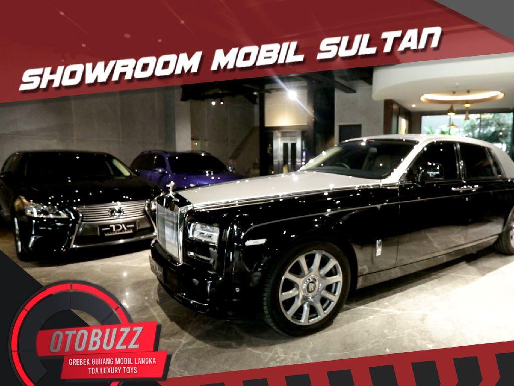 Cek Harga Mobil Mewah di TDA Luxury Toys, Sanggup Beli Nggak Ya?