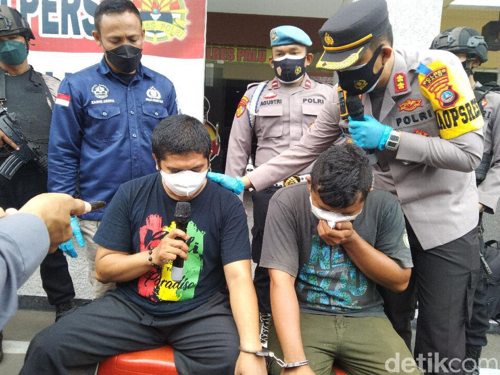 2 Pegawai Lapas Palu Simpan 4 Kg Sabu di Rumah Dinas Ditangkap
