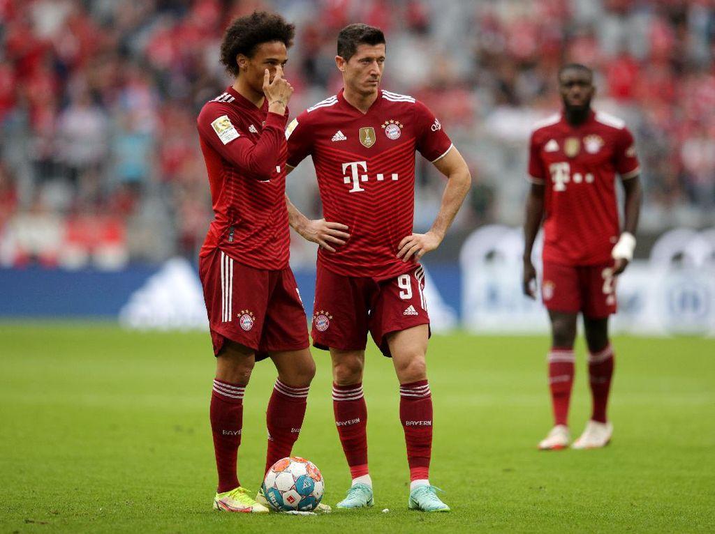 Bayern Vs Frankfurt: Die Roten Menyerah di Kandang 1-2