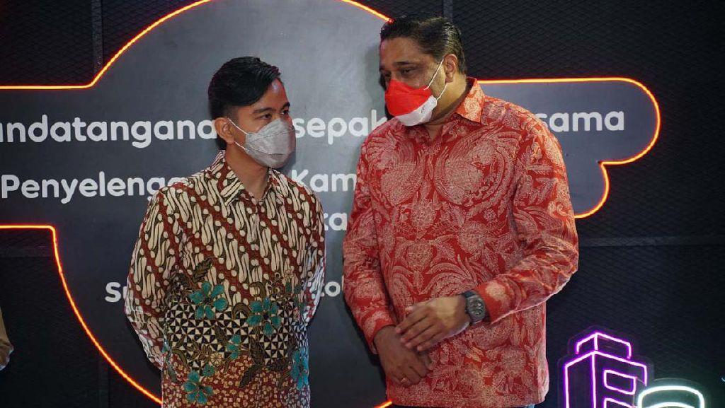 Gibran Gandeng Indosat untuk Pemulihan Ekonomi Solo