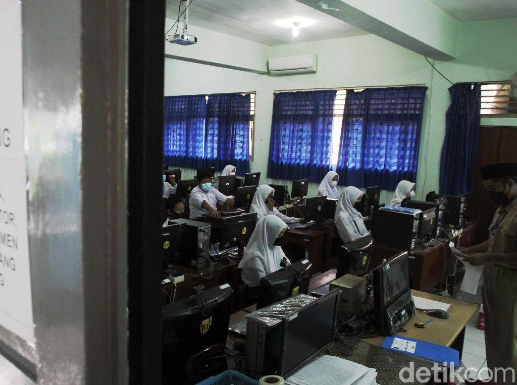 Intip Pelaksanaan Asesmen Nasional Berbasis Komputer di Yogyakarta