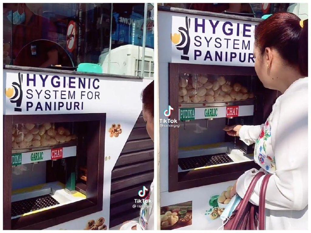 Sering Dibilang Jorok, Jajanan India Kini Ditawarkan Pakai Vending Machine