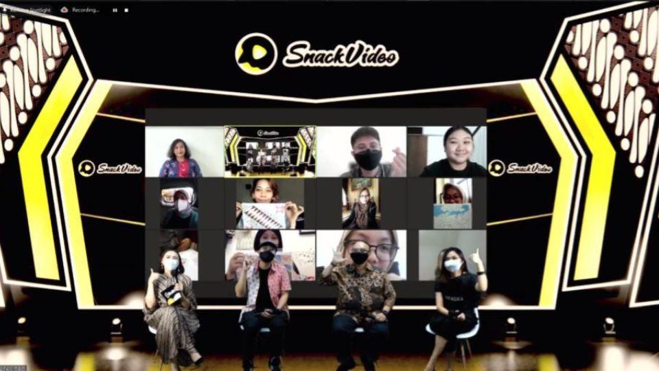 Rayakan Hari Batik Nasional, SnackVideo Gelar Pelatihan Membatik dan Bikin Video Pendek
