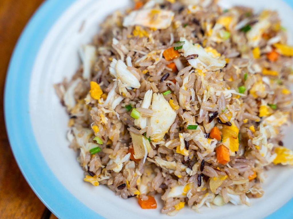 Resep Nasi Goreng Kepiting ala Restoran Buat Sarapan Spesial