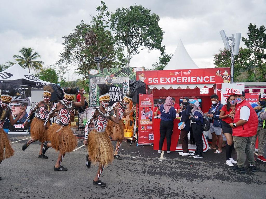 Telkomsel Bawa 5G ke PON XX Papua, Bisa Apa Saja?