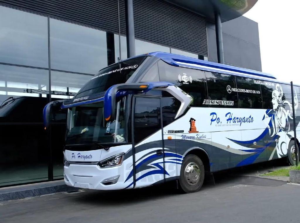 PO Haryanto Luncurkan Bus Baru, Pakai Bodi Laksana Legacy SR2 S-Series