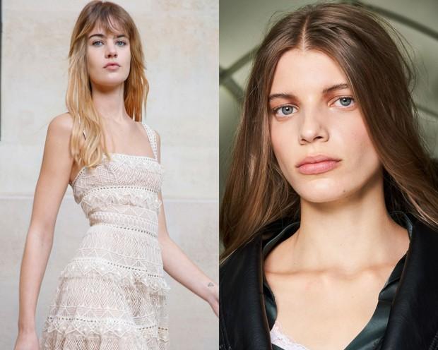 Rambut terurai alami pada show Elie Saab dan Isabel Marant/