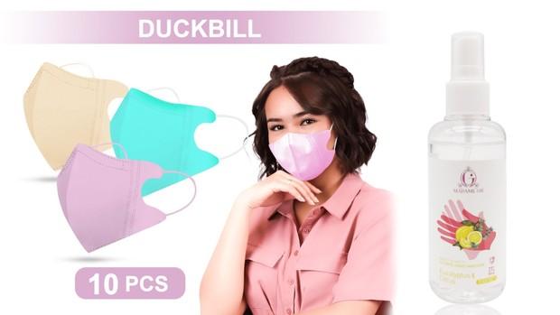 Gunakan masker dan hand sanitizer jika sudah mulai bekerja di kantor   Foto: instagram/madame.gie
