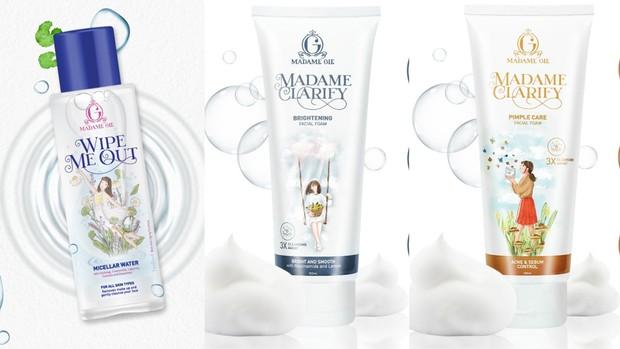 Jangan lupa bersihkan wajah terlebih dahulu dengan micellar water ataupun sabun wajah   Foto: instagram/madame.gie