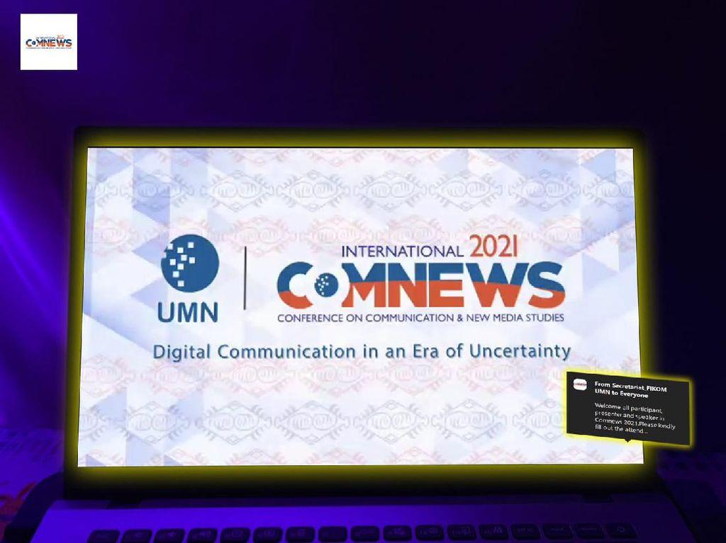 UMN Gelar Konferensi Internasional soal Komunikasi Digital Era Pandemi