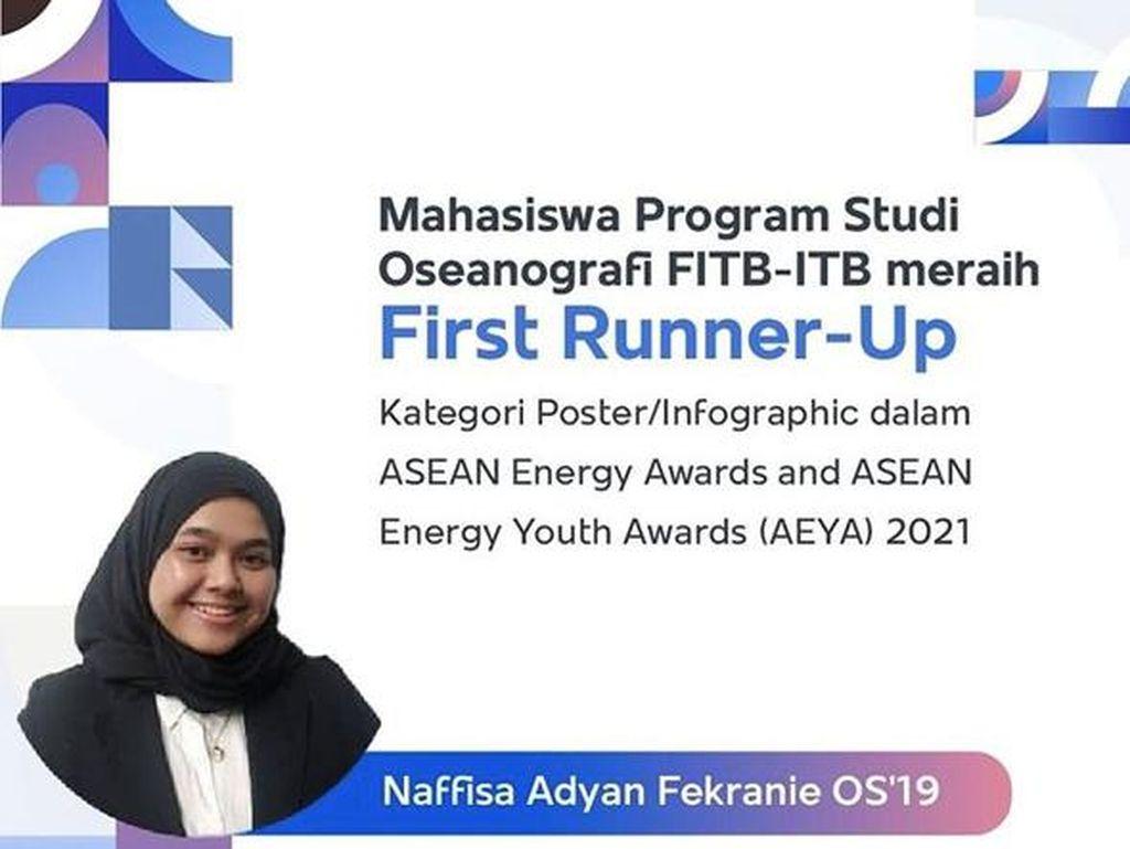 Keren! Mahasiswi ITB Ini Kalahkan Filipina & Vietnam di Ajang ASEAN Energy Youth Awards