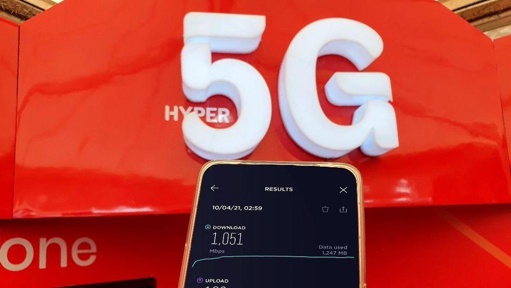 Menjajal Ketangguhan 5G Telkomsel di Papua