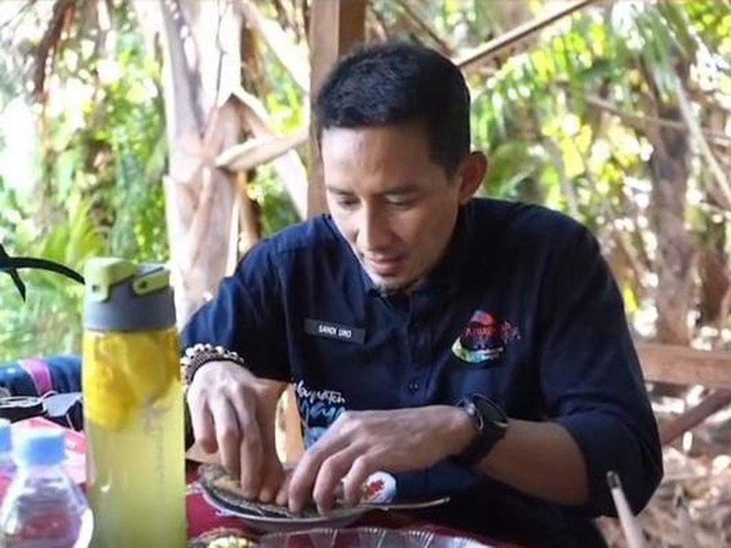 Raffi Ahmad dan Sandiaga Uno Terpikat Kelezatan Papeda, Ini Kata Mereka