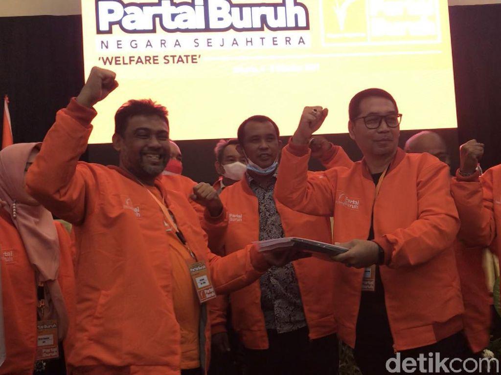 Partai Buruh Bakal Daftarkan Pengurus Baru ke Kemenkumham Pekan Depan