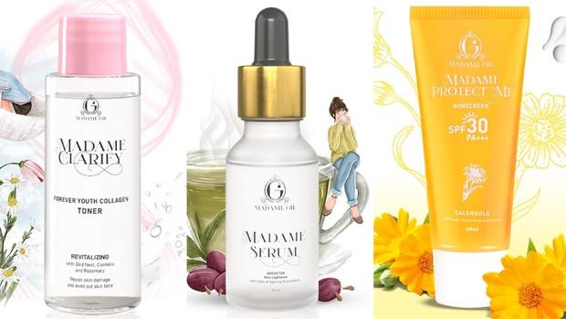 Sebelum makeup, kamu wajib menggunakan skincare supaya kulit lebih siap   Foto: instagram/madame.gie