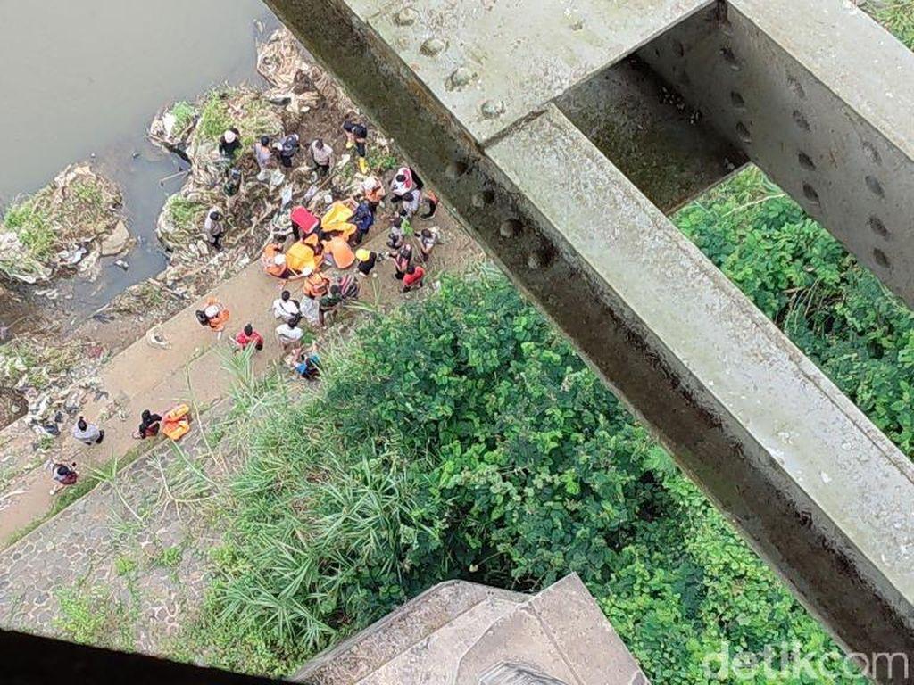 Selang Sebulan, Dua Orang Tewas Jatuh dari Jembatan Cirahong Ciamis