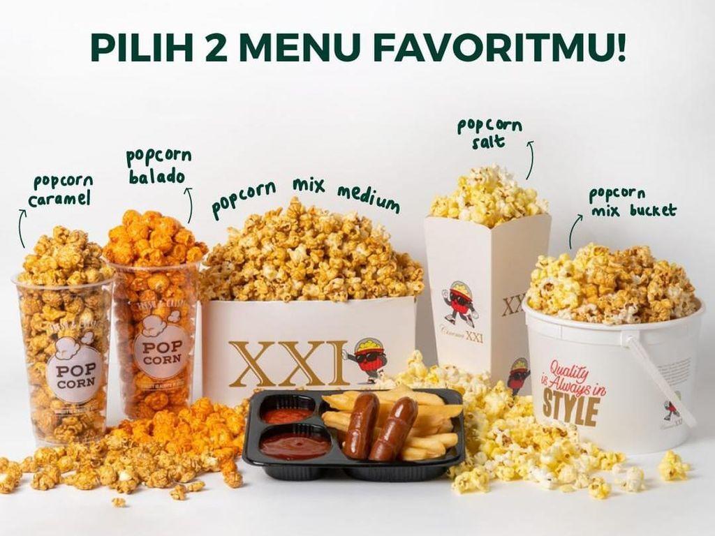 Sudah Boleh Makan di Bioskop, 5 Jajanan Ini yang Bikin Kangen