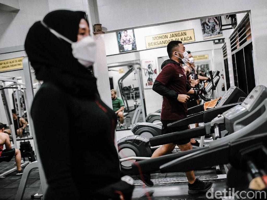 Intip Penerapan Prokes di Tempat Gym Jakarta saat PPKM Diperlonggar