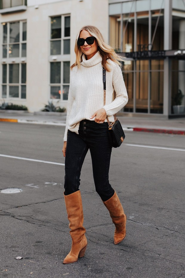 Turtleneck Sweater/Foto: Pinterest/The Every Girl