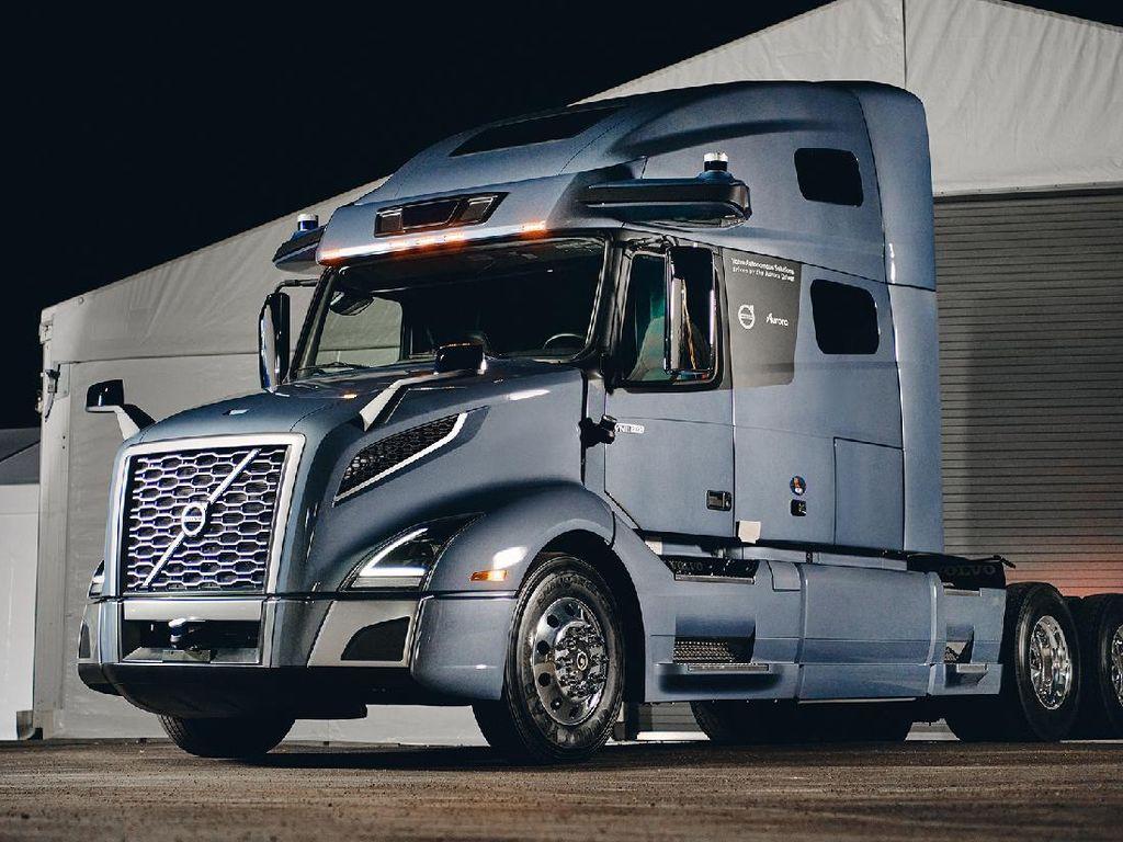 Volvo Pamer Truk Listrik yang Tak Perlu Pakai Sopir