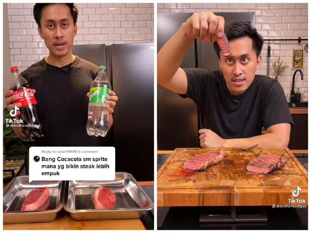 Minuman Soda Bikin Daging Empuk, Ini Kata Dims The Meat Guy