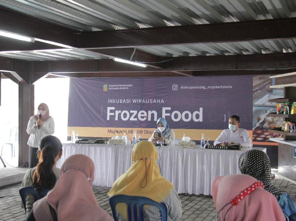 Pemkot Mojokerto Gelar Pelatihan Inkubasi Wirausaha Frozen Food