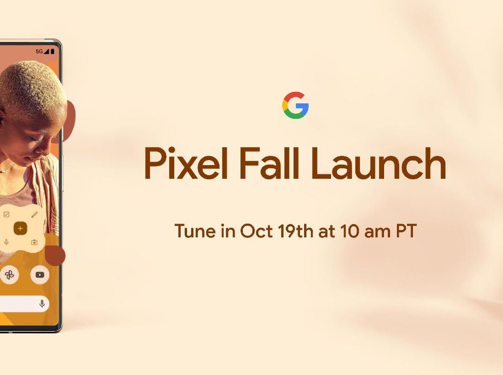 Google Pastikan Pixel 6 Rilis 19 Oktober 2021