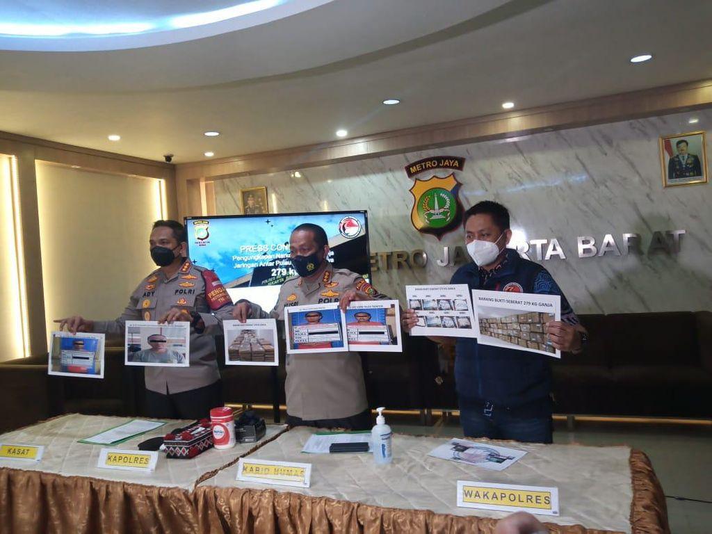 Jaringan 279 Kg Ganja Asal Sumatera Dikendalikan Napi Lapas di Bogor